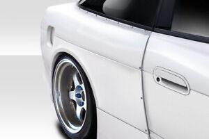 89-94 Fits Nissan 240SX V Speed Duraflex Body Kit- Wide Rear Fenders!!! 114925