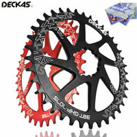 DECKAS Narrow Wide Round/Oval MTB Bike Chainring 32-38T SRAM GXP Chainwheel