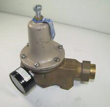 "Water Pressure Reducing Valve 3/4"" Watts Regulator U5B Z3 Series"