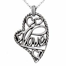 Heart Necklace Free Love Hearts Pendant Stainless Steel Jewelry By Controse