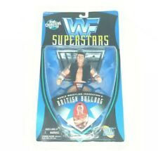 VTG WWF Superstars The British Bulldog Best Of 1997 Action Figure Bone Crunching