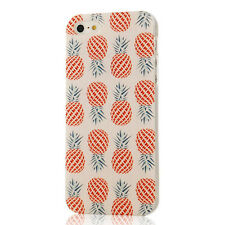 Hot белый Colorful Pineapple Pattern TPU Soft Cover Case For iPhone 5 5s New