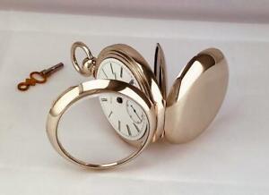 1878 ELGIN ADVANCE 11 Jewels Key Wind Pocket Watch GRADE 13 MINT DIAL 18s - RUNS
