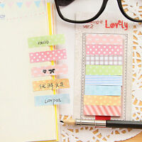 1x Kawaii Sticker Bookmark Post It Marker Memo Post Flags Cute Sticky Notes