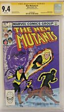 New Mutants #1 CGC 9.4 signed Bob McLeod X-Men X-Force X-Factor Deadpool Cable