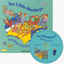 Ten Little Monkeys Jumping on the Bed by Child's Play International Ltd (Mixed media product, 2007)