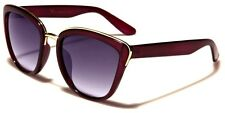 VG Cat Eye Metal Accents Women's Designer Sunglasses