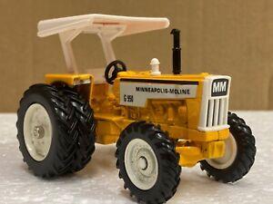 1/43 scale ERTL Minneapolis moline G750 4wd tractor tracteur traktor toy farmer