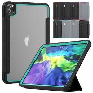 "For iPad Pro 12.9"" 11"" 2018 2020 Heavy Duty Flip Screen Protector Case Cover"