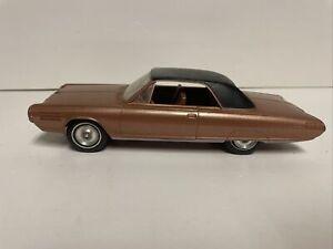 1963 Chrysler Turbine Car 1:25 Factory Dealer Promo Model, Bronze Preowned!