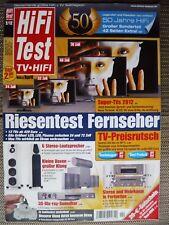 HIFI TEST 2/12 KEF R900.MARANTZ PM6004.CD 6004,SONY KDL 55NX 725,B &W  CM 9