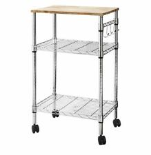 Room Essentials Microwave Cart - Chrome