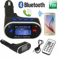 Kit Vivavoce USB AUX Mp3 SD Bluetooth per Auto Smartphone Tablet Caricabatterie