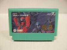 NES --  RYUGA NINJA CRUSADERS -- Famicom. Japan game. Work fully. 12347