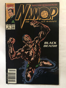 MARVEL Collectible Comic Book NAMOR No 4 July 1990 Vol1