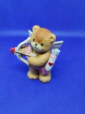 Lucy And Me Cupid Valentine's Heart February Love Bear Lucy Rigg Enesco 1985