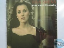 TINA ARENA aimer jusqu'à l'impossible CD SINGLE card sleeve
