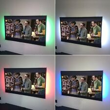 Colour changing TV back light LED RGB flexible strips USB powered Powermaster