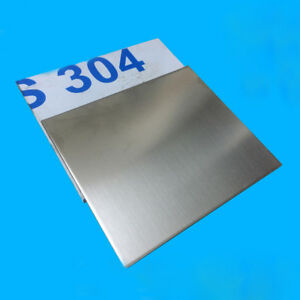 304 Stainless Steel Sheet Plate 0.8/0.5mm Thick 200x200mm 300x400mm DIY Model