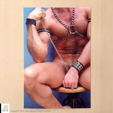 4x6 Beefcake #5 - Male Nude Art Photograph - Hairy / Gay / Nude / Leather
