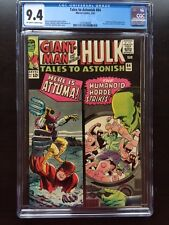 TALES TO ASTONISH #64 CGC NM 9.4; OW-W; Kirby cover; Ditko art!