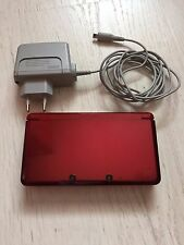 Nintendo 3DS Flame Red PAL EUR Genuine