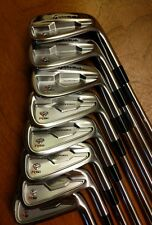 NEW! TaylorMade Golf RSi TP Forged Irons 2-PW Custom KBS C-Taper 120 Stiff shaft
