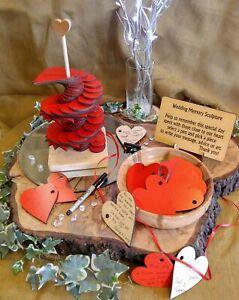 Memory Sculpture Hearts Wedding Guest Book Alternative