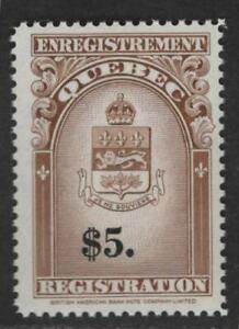 $Canada-Quebec Sc#QR36 M/NH/VF, Revenue
