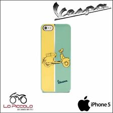 COVER CUSTODIA RIGIDA ORIGINALE VESPA BI-COLORE CON STAMPA VESPA PER IPHONE 5