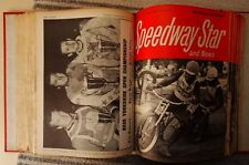 Lot of 45 1969/70 Speedway Star Magazines in Official Binder (16/5/69-27/3/70)