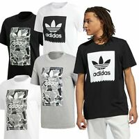 ✅Adidas Originals Cammo & Solid Men's Trefoil Sports T-Shirts FAST DISPATCH✅
