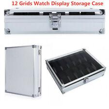 Aluminum Alloy Simple Buckle  Watch Box Home Storage Column Boxes Jewel Case