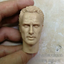 blank younger 1/6 scale Head Sculpt Andrew Lincoln The Walking Dead Rick Grimes