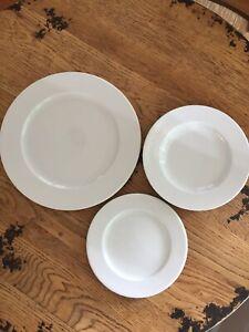 Apilco France Porcelain CLASSIC Dinnerware Set - NEVER USED