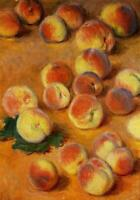"high quality oil painting handpainted on canvas ""peaches"""