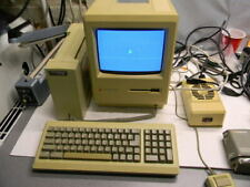 Apple Macintosh Plus 1MB, Hyperdrive FX/20, Accessories, Keyboard, Mouse, Disks