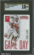 2016 Panini Contenders Game Day Gold Label #5 Ezekiel Elliott RC Cowboys SGC 10
