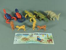 petits animaux : Animaux Le Désert 1997 - Ensemble complet + tous VAR 1 BPZ