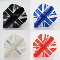 TARGET VISION UNION JACK FLAG DART FLIGHTS - Choose Colour - 1/5/10 Sets