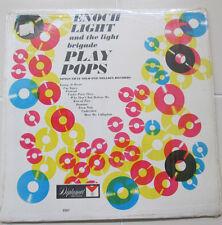 Enoch Light Brigade LP Play Pops Album Mono Diplomat 2261 Vinyl Jazz Shrinkwrap