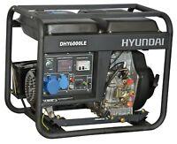 Generatore di Corrente Diesel Gasolio 5,5Kw Elettrico Avr Monofase Hyundai 65211