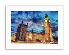 LANDMARK WESTMINSTER PALACE BIG BEN TIME LAPSE LONDON UK Poster Canvas art