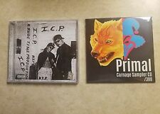 CD LOT SUPER RARE intelligence violence NEW Official  ICP Insane Clown Posse WOW