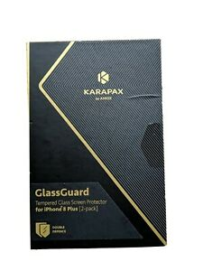 Karapax By Anker GlassGuard for Iphone 8 Plus phone case 2-pack. New in box