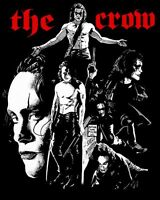 MEN'S T SHIRT tshirt cult 90s movie goth The CROW revenge sci-fi film Lee