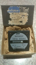 Vintage Westinghouse Hour Meter Gauge Steampunk 120 volts 60 New/Old Stock w Box