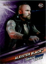 2019 Topps WWE SmackDown Live Purple #2 Aleister Black /99 - NM-MT