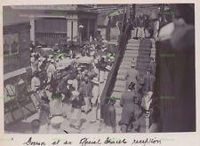 OLD HONGKONG PHOTO THE GOVENOR AT A CHINESE RECEPTION HONG KONG VINTAGE C.1906