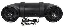 "Soundstorm BTB8 Bluetooth Dual 8"" 700 Watt ATV/UTV Marine Powered Speaker System"
